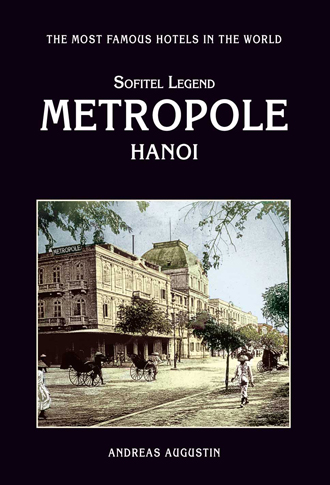 cover of metropole hanoi book by andreas augustin